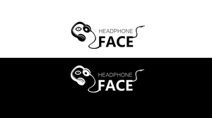 headphone face by con3x