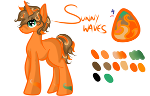 Sunny Waves by mechafone