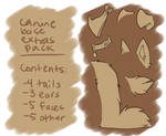 P2U Canine base extras pack by Fantomte