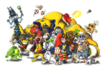Earthworm Jim Cast by Splapp-me-do