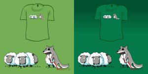 Woot Shirt - Bad Sheep by fablefire