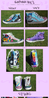 :super amazing awesome shoes by CaptainNic