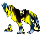 Tiger Swallowtail Hybrid Adoptable-Closed by Sixbane