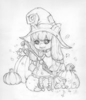 Halloween Witch 2011 by Anne-O