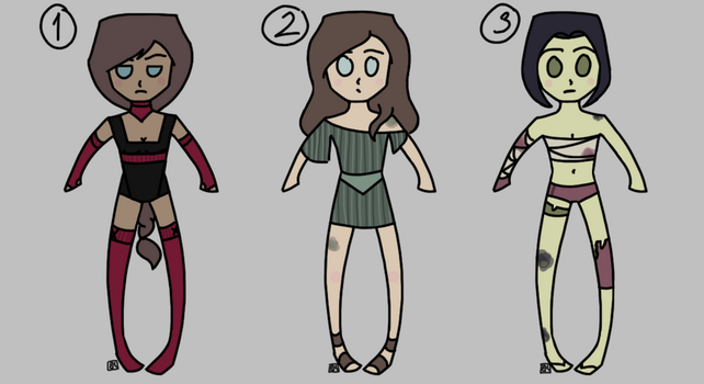 Name Your Price Human Adopts by Crazy-Artist-Person