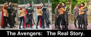 the real story of the avengers by feevagabonde