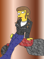 Biker Ruth Powers by TromboneGothGirl84