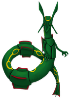 Rayquaza by RobotsWithCookies