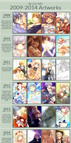 Improvement Meme 2009-2014 by Blizz-Mii