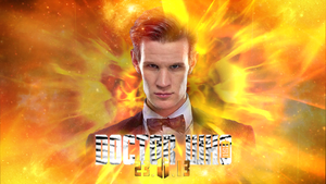 50th Anniversary Special Matt Smith Wallpaper by theDoctorWHO2