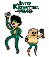 Jade Reporting Time! by IRISNetwork