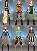 GOH-Jedi costumes by GamerGirl14
