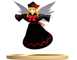 MMD Trophy: Yas Lily Black by Rea-Usax