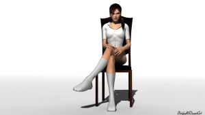 Lara Croft Socks Render by bstylez
