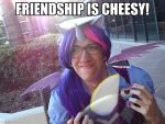 Friendship Is Cheesy (COSPLAY) by AniRichie-Art