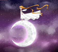 Moon by TheULTImateAngel
