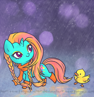 dewdrop dazzle the texture abuser by ponymonster