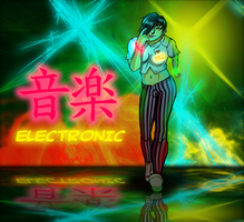 Japanese Rave Girl by Norman-Fabian-86