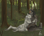 Together - Commission by KeksWolf