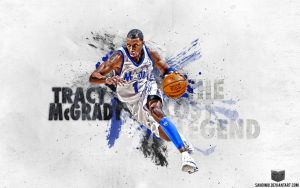Tracy McGrady The Lost Legend by Sanoinoi