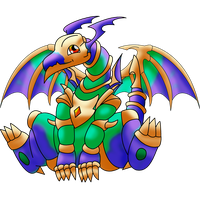 Toon Chaos Emperor Dragon by InfinityVoid