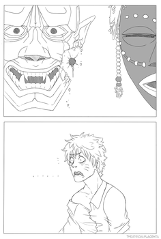 You Broke My Mask (Pg1) by TheatricalPlacenta