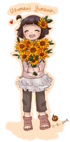 .: Little Sunflower :. by Finni-NF