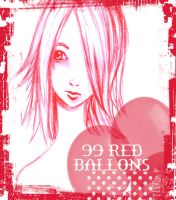 99 Red Ballons by madewithsadness