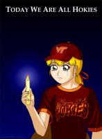 Today We Are All Hokies by phantom-inker