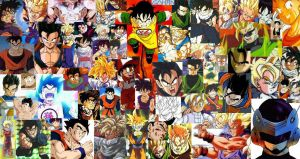 Gohan collage-ness by Kat-Lady04
