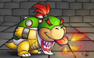Bowser Jr. by Ayemae