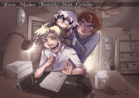 Love Makes Family Not Gender by Imoon90
