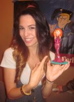 Christy Carlson Romano with my Kim Possible by TeenTitans4Evr