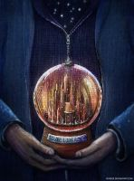 Gallifrey Snow Globe by nokeek