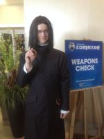 OCC2015 - Him as Professor Snape 3 by dragoon811