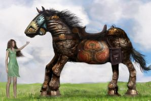 Mechanical Horse by JHibbs