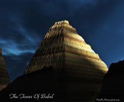 The Tower Of Babel by FracFx