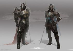 Shardplate Concept by quargon