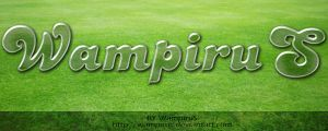 Cool Clean Glass Text Effect by WampiruS