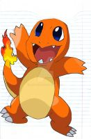 Charmander stage 4 by Cazza2010