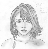 Yuna Final Fantasy X by kittenangel116