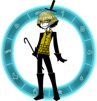 Human! Bill Cipher by A-Vale