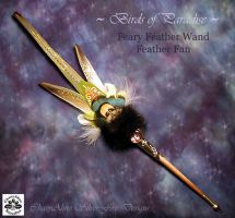 Birds of Paradise Wand III by ChaeyAhne