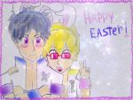 HAPPY EASTER with ReiGisa! by Silver-chan2000