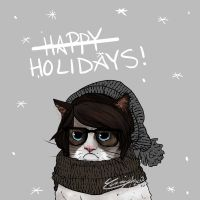 Chrissy the Grumpy Cat by Chrissytor
