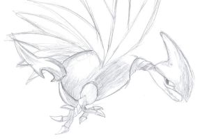 Skarmory by Happee-Dudlez