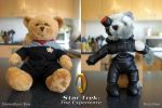 Star Trek Teddy Bears by digitalchet