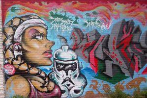 Graffiti twileek girl by darkriddle1
