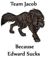 Team Jacob SHirt Design by Deadpool70754