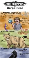 Animorphs Meme FINALLY by Doodlee-a